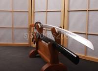 Practical JP Sword Katana Full Tang HCS Blade No Hi Sharp Edge Can Cut HA025