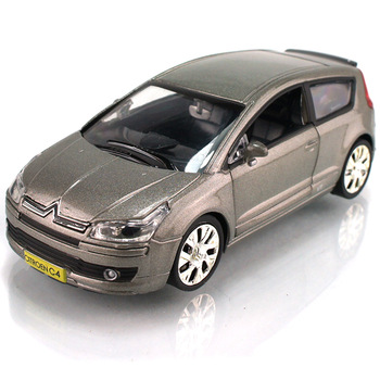 Iron car citroen c4 alloy WARRIOR door exquisite child car model toys