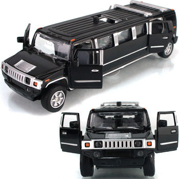 Ytgf lengthen humvees limousines car model acoustooptical WARRIOR alloy car toy