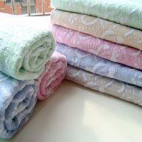 Freeshipping Bamboo fibre cotton 70 140 adult bath towel antibiotic soft comfortable super absorbent
