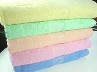 Freeshipping Cotton 100% mushroom jacquard bath towel 70 140 100% cotton bath towel 5-color