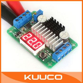 100 PCS/LOT Boost 100W/6A 3.5V-30V DC 5V/12 Volt LTC1871 High Power Converter Regulator+Red LED Voltmeter #090081