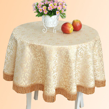 Quality fashion round table cloth fluid tablecloth dining table cloth tv cabinet computer gremial table cloth customize