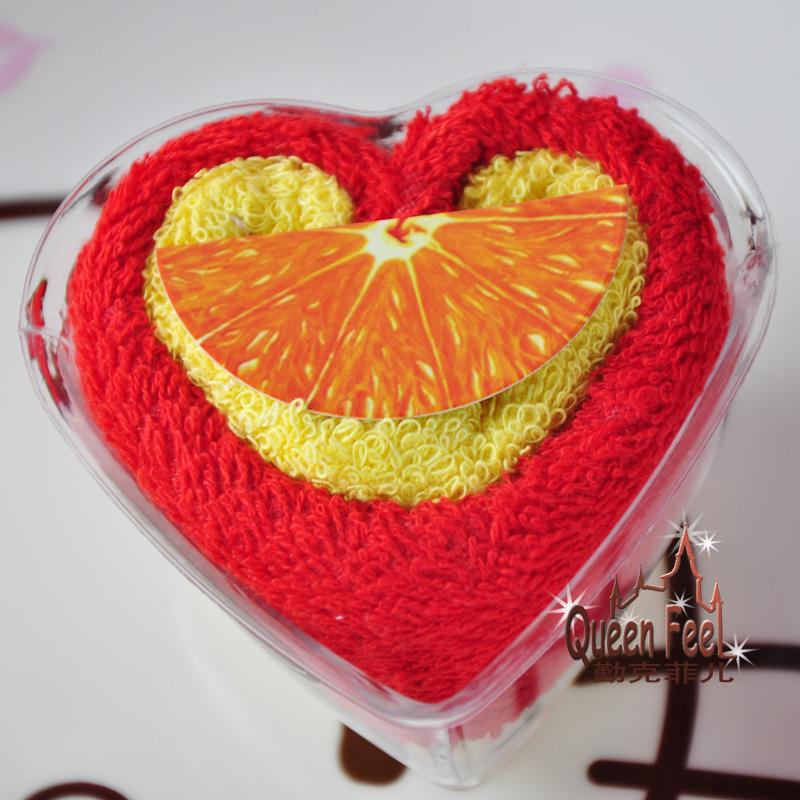 Wedding gift supplies Christmas lovers gift cake towel Freeshipping(China (Mainland))