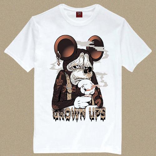 Mouse t Shirt Mouse After Print t Shirt