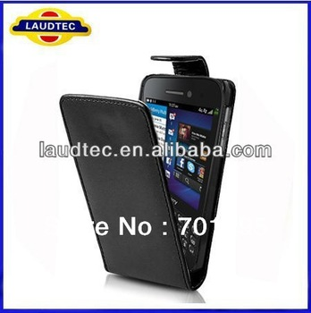 Flip Leather  Case for Blackberry Q5 ,200pcs/lot,Plain pattern,High quality,fast delivery---DHL Free shipping