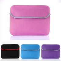 High quality fashionable popular portable Laptop Bags for ipad 2 Neoprene bags Sleeve soft case + free shipping