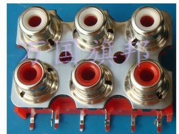 RCA audio socket /outlet/jack 6bit