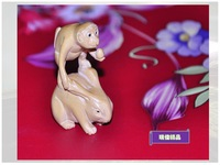 Sherbin woodbines eco-friendly - toy - birthday gift - decoration - zodiac rabbit 137 3.1 2.1 5.3cm