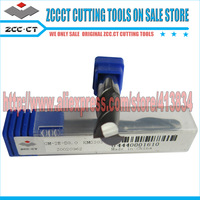 Free Shipping 20pcs/lot GM-2E-D8.0 ZCCCT Cemented Carbide 2 Flute Flattened end mill with straight shank