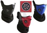 drop shipping Ski Snowboard Bike Motorcycle Face Mask Neck Warm black,blue,red as photo can choose helmet snowboard mask