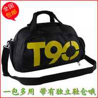 Free shipping T90 shoes cross-body football backpack basketball bag gym bag sports bag
