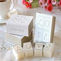 Wedding supplies fashion wedding love books candle fashion gift
