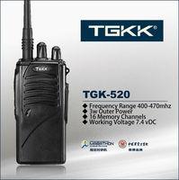 cheap handheld two way radio Cheap UHF radio, TGK-520 3W two way radio