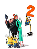 """02 Despicable Me 2 14""""x19"""" inch wall Poster with Tracking Number"""