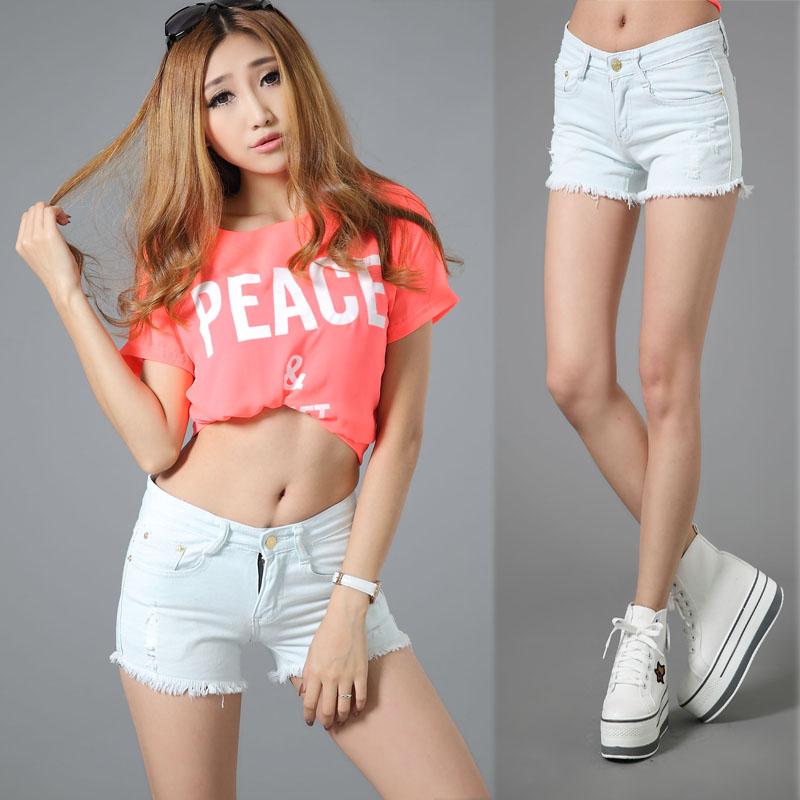 Short shorts women