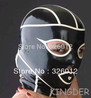 Fancy spider man sexy latex hoods