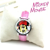 2013 individuality watch child cartoon MINNIE strap watch db101