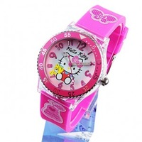 Hellokitty child watch kt cat ladies watch girls child watch