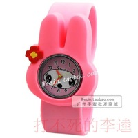 Jelly rubber child watch pointer quartz watch watchband watch waterproof sheet
