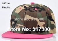 Wholesale NEW Blank Camouflage Men Women Snapback Caps Camo Baseball Hats Autumn Mens Flat Bill Sports Snap Backs Cap Womens Hat