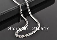Free shipping 316L Stainless Steel 5.3mm Fashion ,Newest generous Necklace,chunky fashion jewelry necklace for men