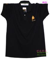 Male summer plus size plus size t-shirt men's clothing turn-down collar short-sleeve T-shirt shirt loose Large short-sleeve t