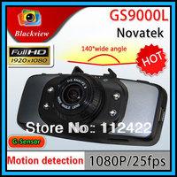 GS9000L Cheap Version  Novatek Car DVR Reocrder 2.7 inch 140 Degree G-sensor Motion Detect 1920x1080P HD Vehicle Camcorder