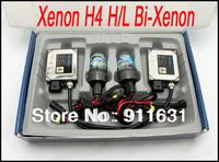 Free Shipping 35W Xenon HID kit H4 H4-H/L Bi-Xenon 9004 9007 H13 H16 color 4300k,6000k,8000k,10000k,12000k