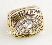 Frees hipping world replica championship rings for sale Super Bowl NFL 1981 San Francisco 49ers ring high-quality souvenir R1101