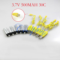 Free shipping 5pcs 3.7V500mAh Battery  +5pcs USB  charger cable for  WL V922 2.4G 6ch helicopter