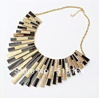 Free Shipping! Retro Sector Glazed Strip Collar Style Elegant Fashionable Necklaces