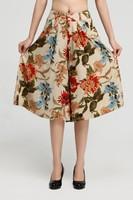 Plus size linen trousers women's 7 capris casual wide leg pants breeches culottes Women summer fashion  FREE SHIPPING
