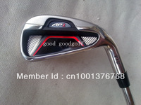 free ship high quality golf clubs AP1 712 golf irons (3 4 5 6 7 8 9 Pw ) 8pcs with Project X5.5 steel shaft irons headcover