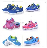 free shipping  promotional best selling boys girls children shoes sneakers fashion brand EUR 25-37 size