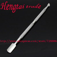 New Cuticle Gel  Polish Nail Pusher Spoon Remover Manicure Pedicure Trimmer Pusher UV Soak Art