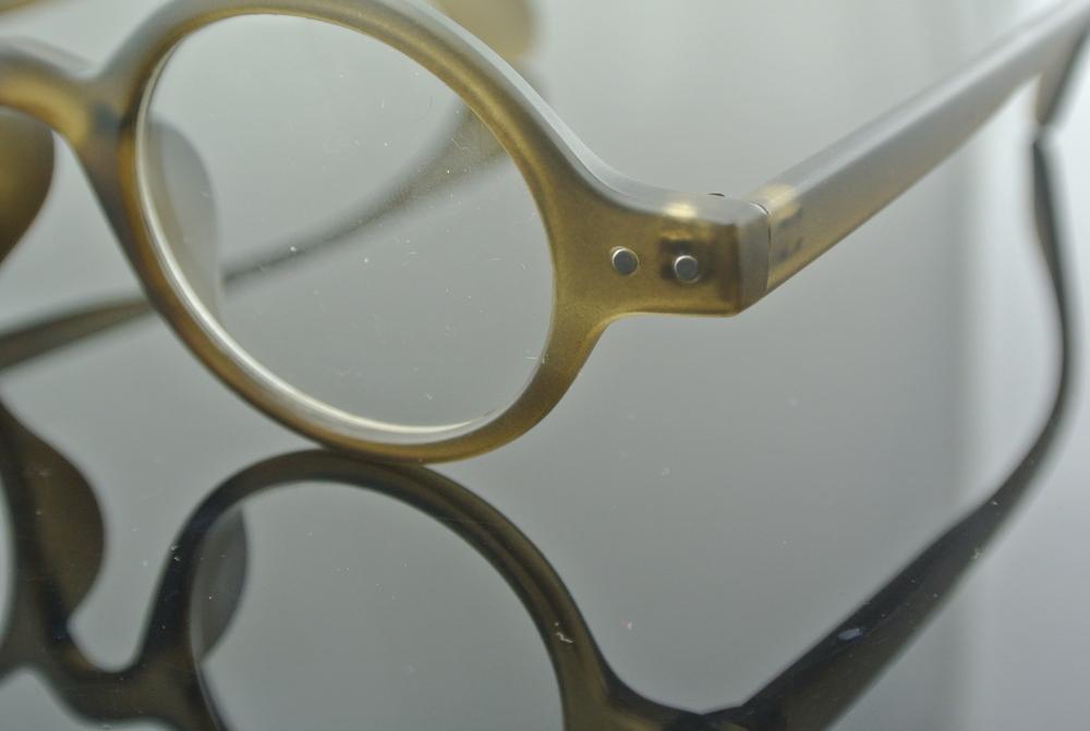 SHI HUA KOU Vintage Glasses Round Eyeglass Frames Tea ...