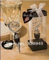 Wedding favor --Swirl Design Wine Stopper