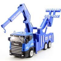 Car model alloy car models rescue vehicle trailer inertia car toy