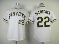 2013 pittsburgh pirates Baseball Jersey #22 Andrew McCutchen white baseball Jersey Cool base , Embroidery Logo, Original Tags