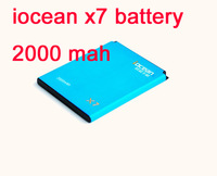 hong kong post shipping iocean x7 phone battery 2000 mah x7 good quality battery