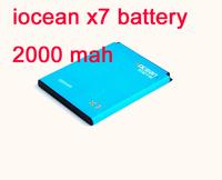 hong kong post shipping iocean x7 phone battery 2000 mah x7 good quality battery