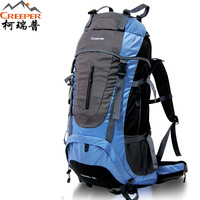 Outdoor backpack double-shoulder 60l mountaineering bag travel bag large capacity female male outdoor backpack bag