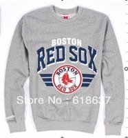 Free Shipping Wholesale & Retail BOSTON RED SOX Jerseys Men Fashion Style Baseball Long Sleeve Hoodies Sweatshirts S-2XL