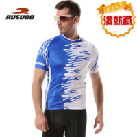 Ride service summer short-sleeve rusuoo Men mesh ride top