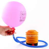Promotional Foot pump balloon wedding supplies wedding room decoration accessories essential gas needle with gas needle
