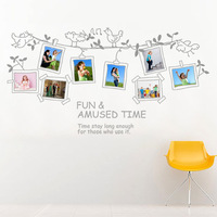 FREE SHIPPING Photo frame wall stickers photo stickers wallpaper jm7143
