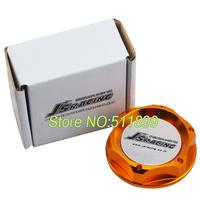 JS-racing Gold Color Car Oil Filler Cap Engine Oil Cap For Honda