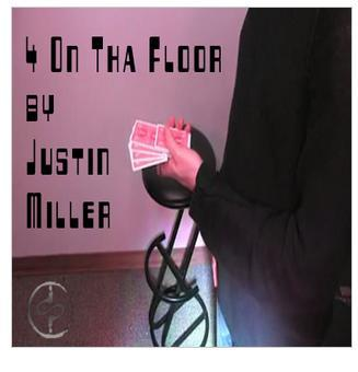 4 On Tha Floor by Justin Miller, only Magic Teach - In, no magic tricks, free shipping, fast develivery