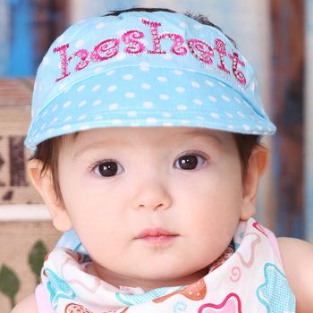 3084 baby hat baby sun visor hat sunbonnet bonnet child cap